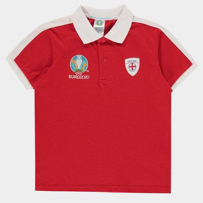 UEFA Euro 2020 England Polo Shirt Junior Boys