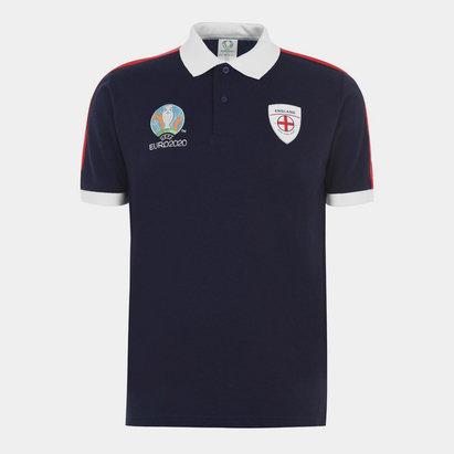 UEFA Euro 2020 England Polo Shirt Mens