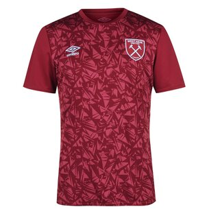 Umbro West Ham Pre Match Shirt 20/21 Mens
