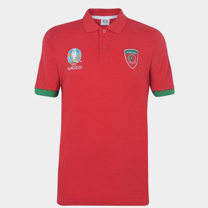 UEFA Euro 2020 Portugal Polo Shirt Mens