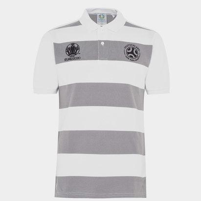 UEFA Euro 2020 Germany Stripe Polo Shirt Mens