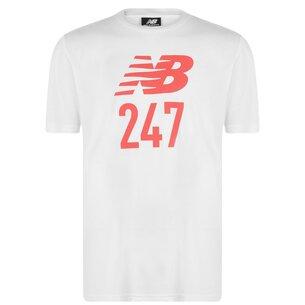 New Balance 24 7 Short Sleeve Sport T Shirt Mens