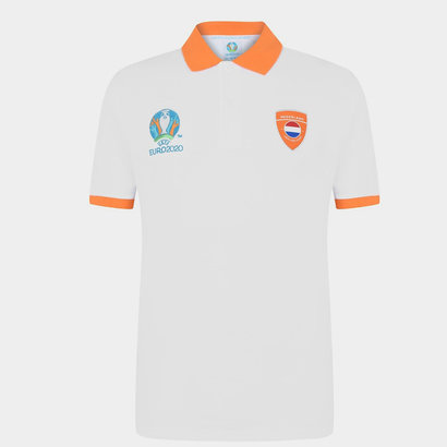 UEFA Euro 2020 Holland Polo Shirt Mens