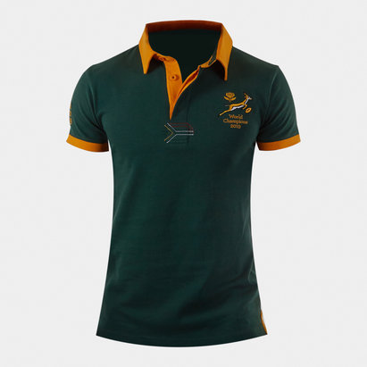 VX3 South Africa Springboks Kids 2019 Winners Rugby Shirt
