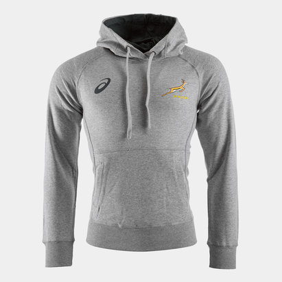 Asics South Africa Springboks Graphic Hooded Rugby Sweat
