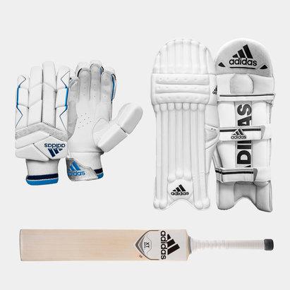 adidas XT 2.0 Gloves Pads and Bat Bundle