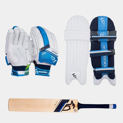 Kookaburra Rampage 2.0 Gloves Pads and Bat Bundle