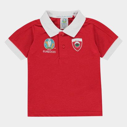 UEFA Euro 2020 Wales Polo Shirt Infants