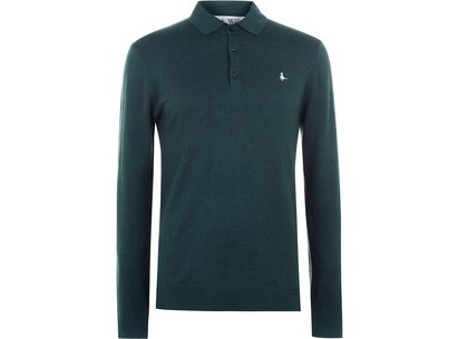 Jack Wills Alfie Long Sleeve Polo Jumper