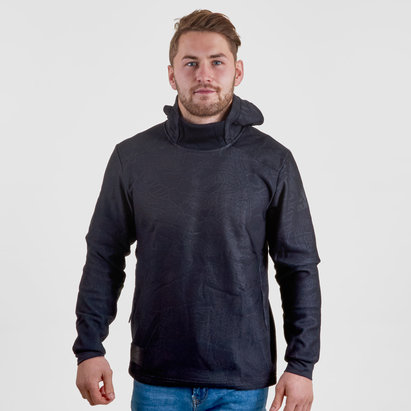 adidas New Zealand All Blacks 2017/18 Collegiate Hooded Rugby Sweat