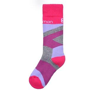 Salomon Team 2 Pack Ski Socks Junior Girls