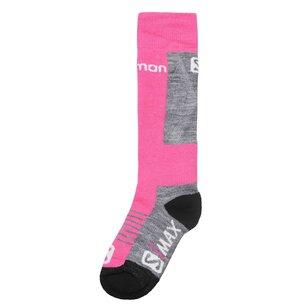 Salomon S Max 2 Pack Ski Socks Junior Girls