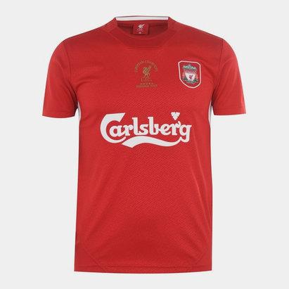Team Liverpool 2005 Home Shirt Mens