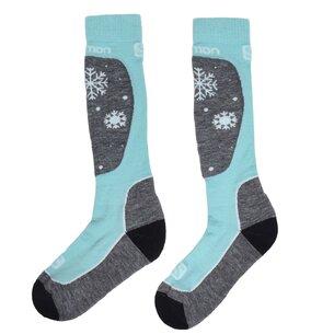 Salomon Access 2 Pack Ski Socks Womens