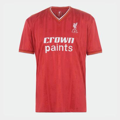 Team Liverpool 1985 1986 Home Shirt Mens