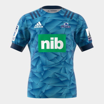 adidas Blues 2020 Home Super Rugby S/S Rugby Shirt