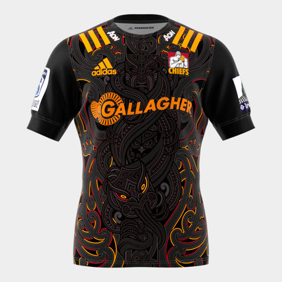 adidas Chiefs 2020 Home Super Rugby S/S Rugby Shirt