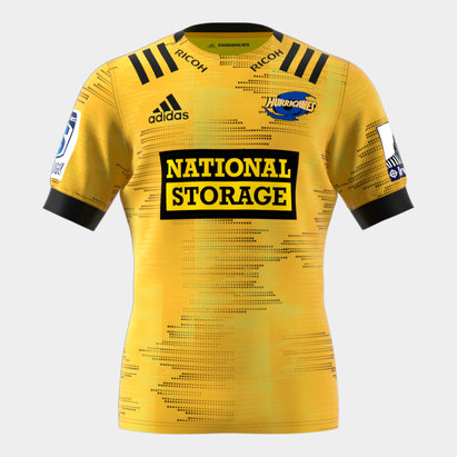 adidas Hurricanes 2020 Home Super Rugby S/S Rugby Shirt