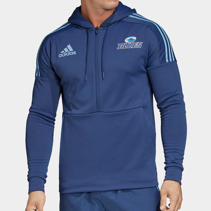 adidas Blues 2020 Super Rugby Hooded Sweat