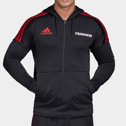 adidas Crusaders 2020 Super Rugby Hooded Sweat