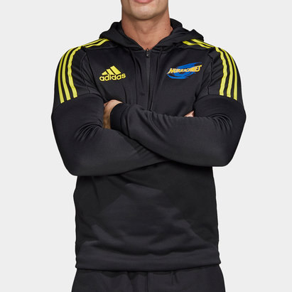 adidas Hurricanes 2020 Super Rugby Hooded Sweat