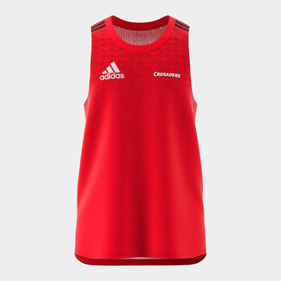 adidas Crusaders 2020 Super Rugby Training Singlet
