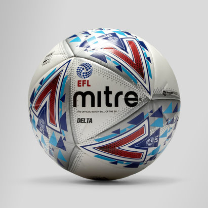 Mitre Delta Hyperseam 14 Panel EFL Official Match Football