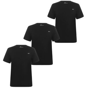 Reebok 3 Pack T Shirt Mens
