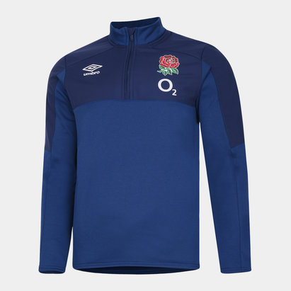 Umbro England Half Zip Fleece Mens