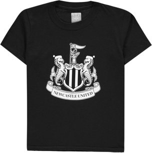 NUFC Newcastle United Jnr Christmas Crest T-Shirt