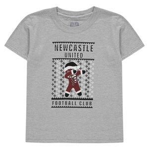 NUFC Newcastle United Jnr Christmas Dabbing T-Shirt