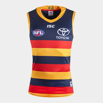 ISC Adelaide Crows 2020 AFL Home Replica Guernsey