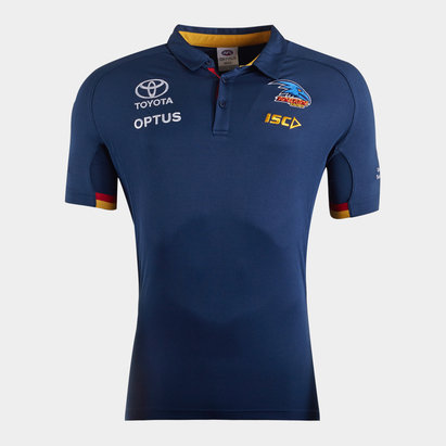 ISC Adelaide Crows 2020 AFL Players Polo Shirt