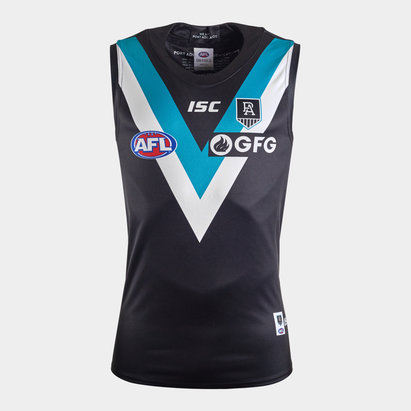 ISC Port Adelaide Power 2020 AFL Home Replica Guernsey