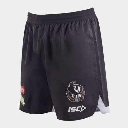 ISC Collingwood Magpies 2020 AFL Players Training Shorts