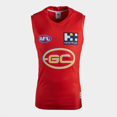 ISC Gold Coast Suns 2020 AFL Home Replica Guernsey