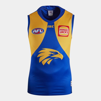 ISC West Coast Eagles 2020 AFL Home Replica Guernsey