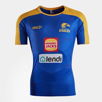 ISC West Coast Eagles 2020 AFL Players Training T-Shirt