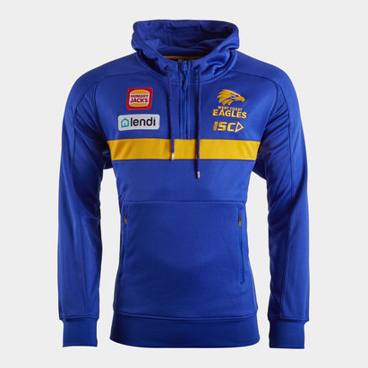ISC West Coast Eagles 2020 AFL Players Hooded Sweat
