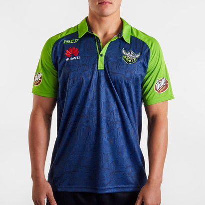 ISC Canberra Raiders NRL 2020 Players Rugby Polo Shirt