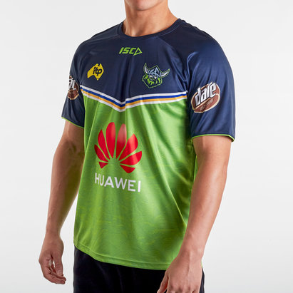 ISC Canberra Raiders NRL 2020 Players Rugby Training T-Shirt