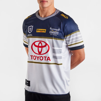 ISC North Queensland Cowboys NRL 2020 Home S/S Rugby Shirt
