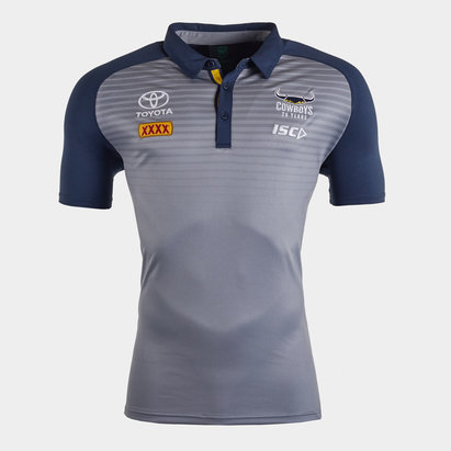 ISC North Queensland Cowboys NRL 2020 Players Rugby Polo Shirt