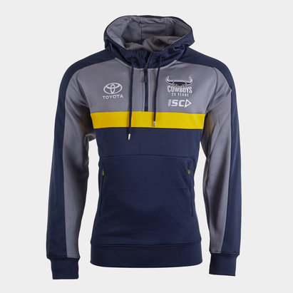 ISC North Queensland Cowboys NRL 2020 Players Hooded Rugby Sweat