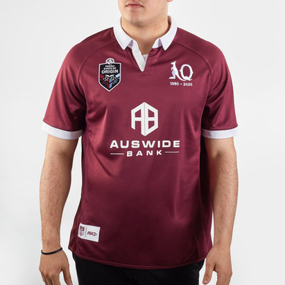 ISC Queensland Maroons NRL 2020 Home S/S Rugby Shirt