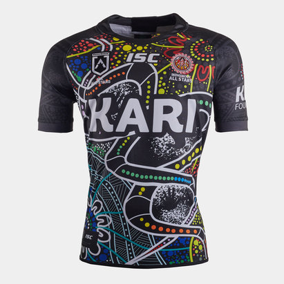 ISC Indigenous All Stars 2020 NRL S/S Rugby Shirt