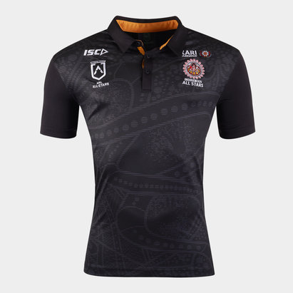 ISC Indigenous All Stars 2020 NRL Players Rugby Polo Shirt