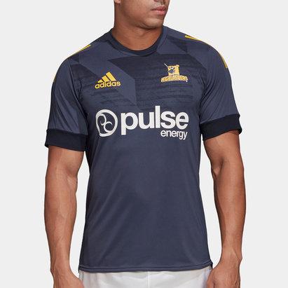 adidas Highlanders 2020 Super Rugby Training T-Shirt