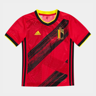 adidas Belgium 2020 Kids Home S/S Football Shirt