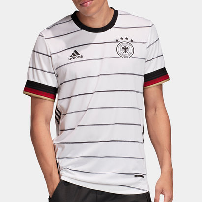 adidas Germany 2020 Home Authentic S/S Football Shirt